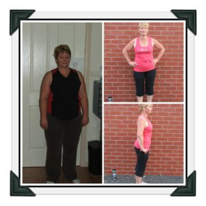 Denise Rowles before and after