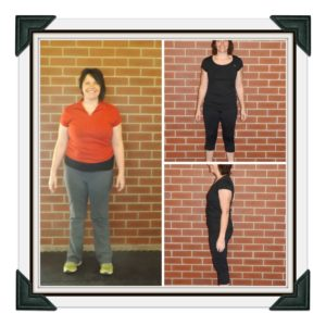 Donna Kempster before and after